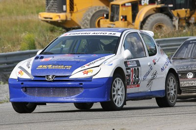 Andreas sin Peugeot 206